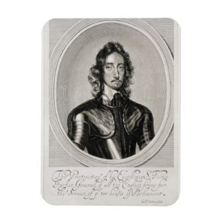 Portrait of Thomas, Lord Fairfax (1612-71) engrave Magnet