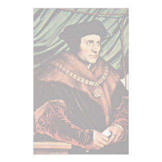 Portrait Of Thomas MoreBy Hans Holbein The Younger Stationery