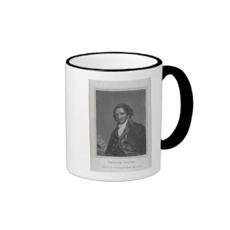 Portrait of Thomas Paine  from Volume I Ringer Mug