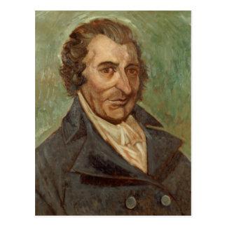 Portrait of Thomas Paine Postcard