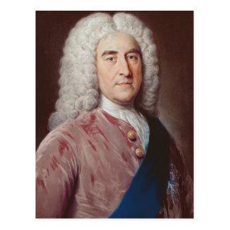 Portrait of Thomas Pelham Holles Postcard