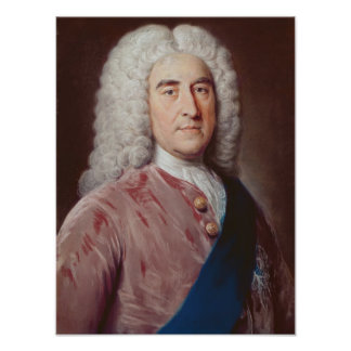 Portrait of Thomas Pelham Holles Poster