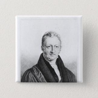 Portrait of Thomas Robert Malthus Button