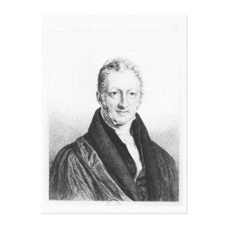 Portrait of Thomas Robert Malthus Canvas Print