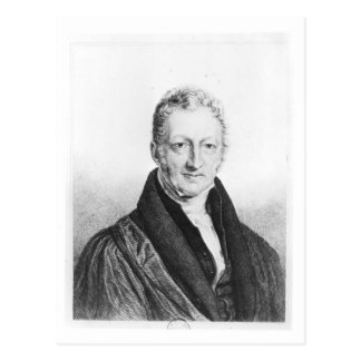 Portrait of Thomas Robert Malthus Postcard