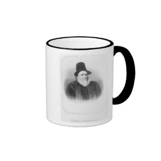 Portrait of Thomas Sackville Mugs