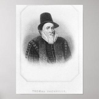 Portrait of Thomas Sackville Poster