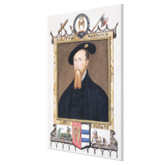 Portrait of Thomas Seymour (1508-49) 1st Baron of Stretched Canvas Print