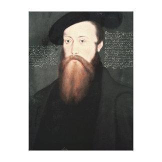 Portrait of Thomas Seymour  Baron Seymour Canvas Print