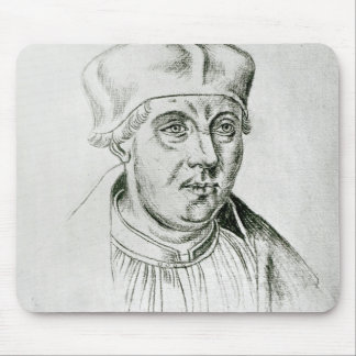 Portrait of Thomas Wolsey, cardinal of York Mouse Pad