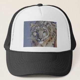 Portrait of Tiger Head Trucker Hat