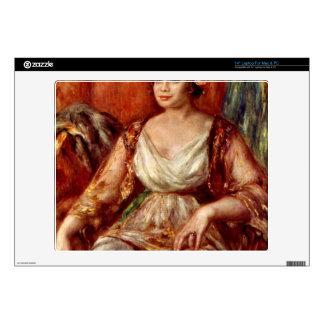 """Portrait of Tilla Durieux by Pierre Renoir Decal For 14"""" Laptop"""