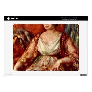 Portrait of Tilla Durieux by Pierre Renoir Acer Chromebook Decal
