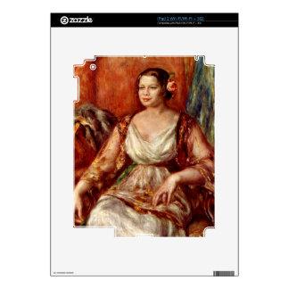 Portrait of Tilla Durieux by Pierre Renoir Decal For iPad 2