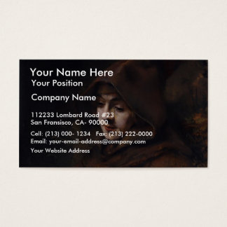 Portrait Of Titus In Monk'S Clothes, By Rembrandt Business Card
