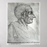 Portrait of Titus Livius known as Livy Poster