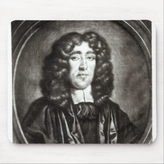 Portrait of Titus Oates  engraved by R. Thompson Mousepads