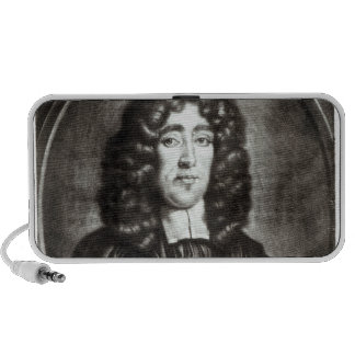 Portrait of Titus Oates  engraved by R. Thompson Laptop Speaker