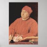 Portrait of Tommaso 'Fedra' Inghirami by Raphael Poster