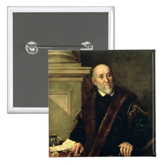 Portrait of Tommaso Giunta , 1563 Pinback Button