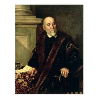 Portrait of Tommaso Giunta , 1563 Postcard