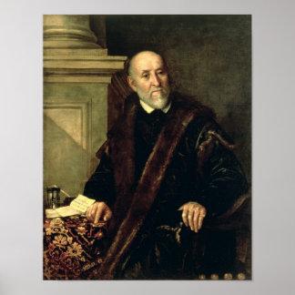 Portrait of Tommaso Giunta , 1563 Poster