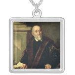 Portrait of Tommaso Giunta , 1563 Square Pendant Necklace