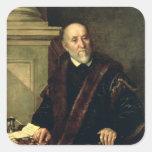 Portrait of Tommaso Giunta , 1563 Square Sticker