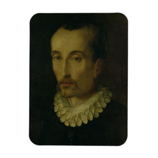 Portrait of Torquato Tasso, 1585-90 (oil on panel) Magnet