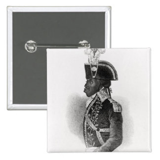 Portrait of Toussaint L'Ouverture Pinback Buttons