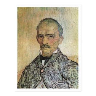 Portrait of Trabuc, Van Gogh Fine Art Painting Postcard