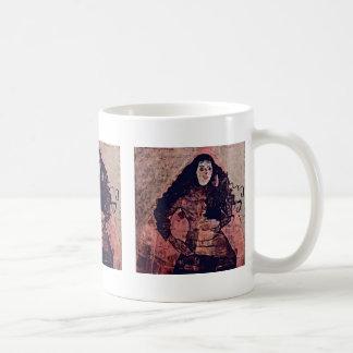 Portrait Of Trude Engel By Schiele Egon Coffee Mug