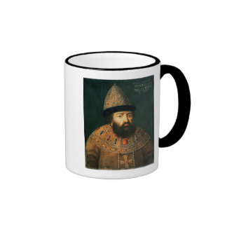 Portrait of Tsar Alexei I Mihailovitch Coffee Mug