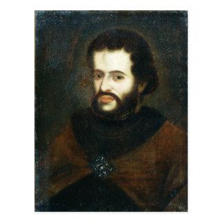 Portrait of Tsar Ivan the V Alexeyevich Postcard