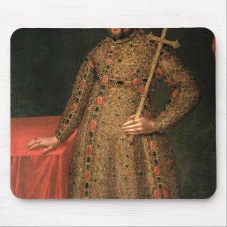 Portrait of Tsar Michael III Fyodorovich , 1728 Mouse Pad