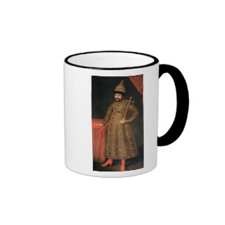 Portrait of Tsar Michael III Fyodorovich , 1728 Mugs
