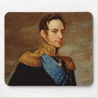 Portrait of Tsar Nicholas I  1826 Mouse Pad