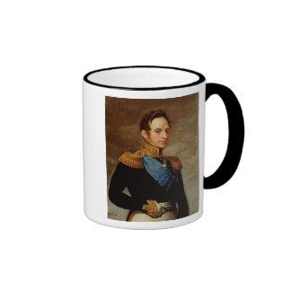 Portrait of Tsar Nicholas I  1826 Mugs