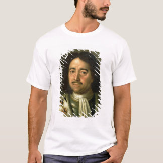 Portrait of Tsar Peter I the Great  1772 T-Shirt
