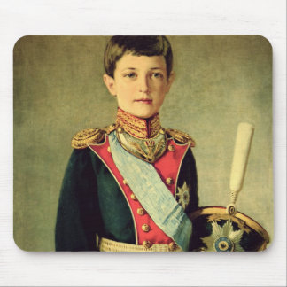 Portrait of Tsarevitch Alexei Nikolaevich; Mouse Pad