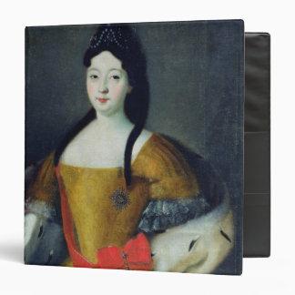 Portrait of Tsarevna Anna Petrovna, 1740s Binder