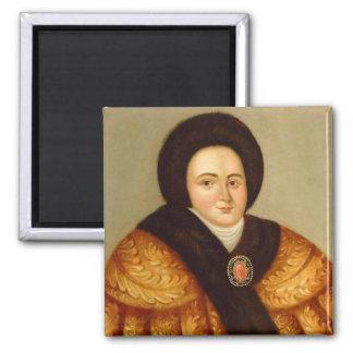 Portrait of Tsarina Evdokiya Lopukhina Magnet