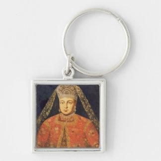 Portrait of Tsarina Marfa Matveyevna Key Chain