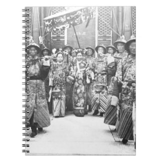 Portrait of Tz U-Hsi 1835-1908 Empress Dowager o Note Books