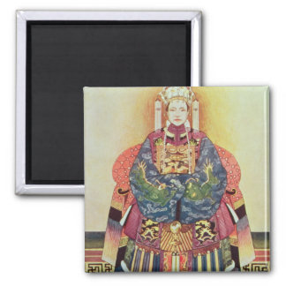Portrait of Tzu Hsi the Empress Dowager Magnets