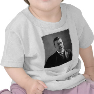 Portrait of U.S. President Theodore Roosevelt Tee Shirts