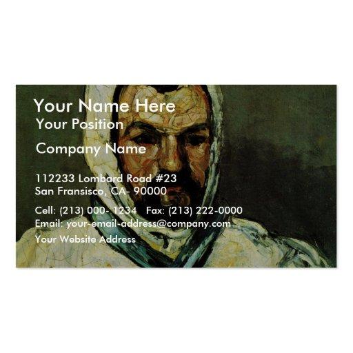 Portrait Of Uncle Dominique As A Monk Business Card Template