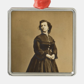 Portrait of Union Spy Pauline Cushman Metal Ornament