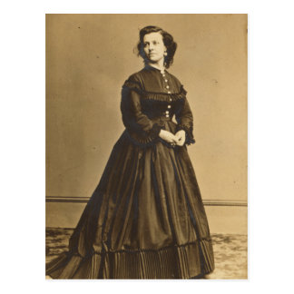 Portrait of Union Spy Pauline Cushman Postcard