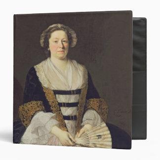 Portrait of Unknown Lady Vinyl Binder